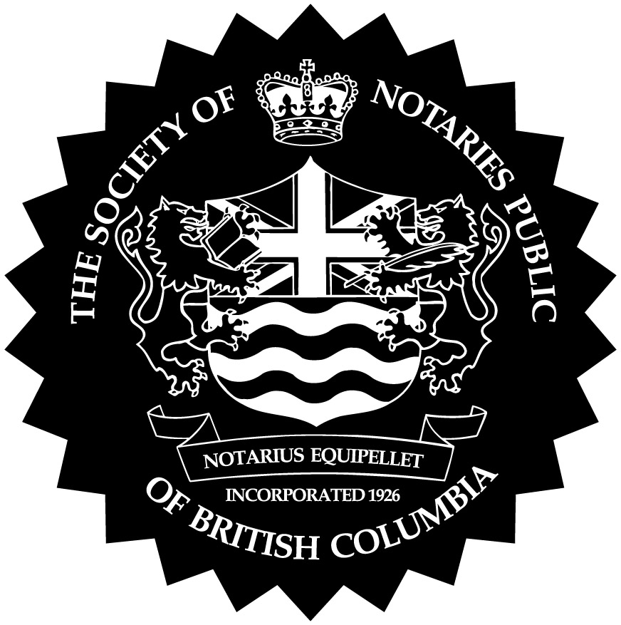 Society of BC Notaries Seal
