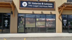 TNG Legal Services MDP's Penticton Location