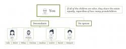 WESA Rules - children, no spouse
